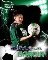 Shayla Garcia Poster 8x10 Ver 2