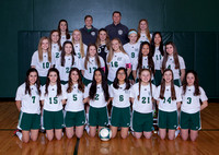 Boylan Girls JV Soccer Team and Individual Pictures Spring 2017