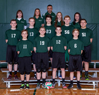 Boylan Boys JV Volleyball Team and Individual Pictures Spring 2017