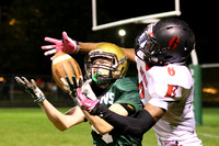 Boylan Varsity Football vs East  Homecoming 10-9-2015