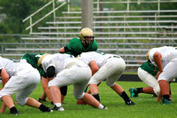 Boylan Boys Football Green & White Games 8-22-2014-3169