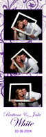 White Wedding Photobooth Photostrips 10-18-2014