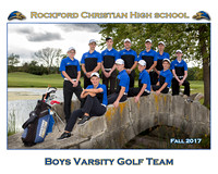 Rockford Christian Team 8x10 Fall 2017 Boys Golf