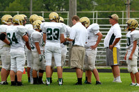 Boylan Boys Football Green & White Games 8-22-2014-3175