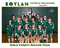 Boylan Team 8x10 Spring  2018 arsity Soccer Team