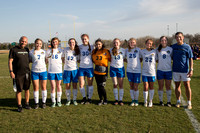 Rockford Christian Girls Varsity Soccer Senior Night Gallery 4-30-2018