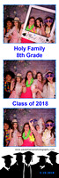 Holy Family 8th Grade Graduation Dance Party Photobooth Photostrips 5-16-2018