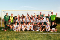 Boylan Girls Varsity Soccer vs Dekalb Sectionals Final 5-30-2014