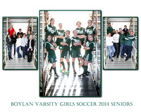 Boylan Girls Varisty Senior Soccer Images/Senior Night 2014