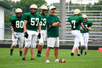 Boylan Boys Football Green & White Games 8-22-2014-3168