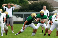Boylan Boys Football Green & White Games 8-22-2014-3190