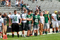 Boylan Boys Football Green & White Games 8-22-2014-3185