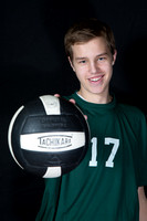 Boylan Spring 2014 JV Boys Volleyball Individual Pictures