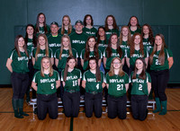 Boylan Girls Varsity Softball Team and Individual Pictures Spring 2017