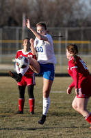 Rockford Christian Girls Varsity Soccer vs Oregon 4-19-2018