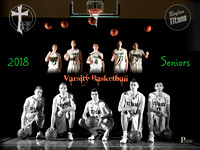 Boylan Boys Basketball Senior Photo Shoot 1-17-2018
