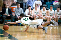 Boylan Boys Varsity Basketball vs Wheaton St. Francis Sectionals 3-7-2018