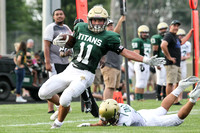 Boylan High School Football Green and White Games 8-17-2017